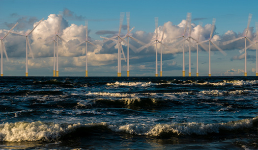 According to a 2017 National Renewable Energy Lab report, North Carolina's coast has more offshore wind potential than any other state along the Atlantic coast. (Adobe Stock)<br />