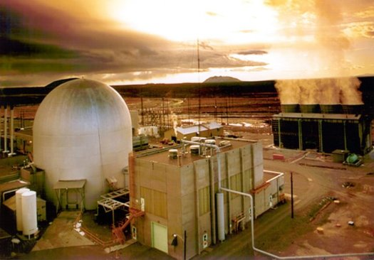 Reprocessing spent nuclear fuel was studied at the Argonne National Laboratory-West site in Idaho. (Argonne National Laboratory-West/Wikimedia Commons)