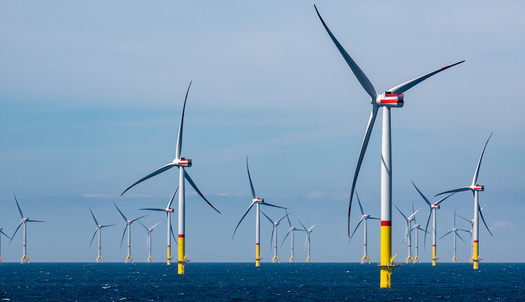 Gov. Roy Cooper issued an executive order with an 8,000-megawatt target for offshore wind-energy generation by 2040. (agrarmotive/Adobe Stock)