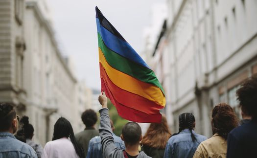 With hundreds of bills viewed as hostile toward people in the LGBTQ community proposed in many states this year, advocates say it's important to stand in support throughout the year, not just during Pride Month. (Adobe Stock)