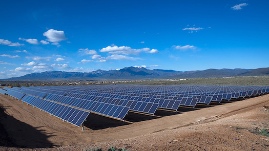 Wind and solar account for about 5,000 jobs in New Mexico, but solar and other advanced energy technologies are expected to boost the state's job growth to 7% this year, according to a report by Advanced Energy Economy. (westernresourceadvocates.org)