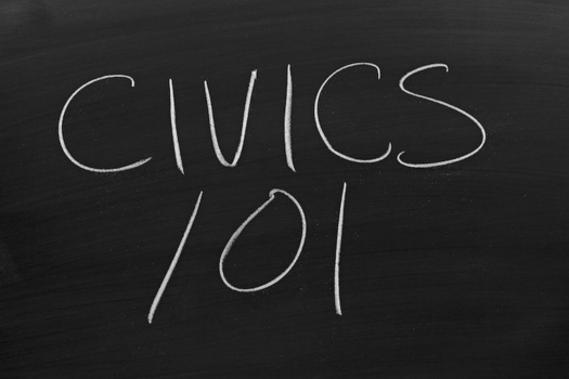 A new report notes that Maine's civic education standards don't mention the concepts of equal protection or due process. (Yurii Kibalnik/Adobe Stock)