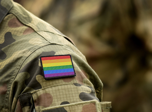 It's estimated there are around one million LGBTQ veterans who served in the various branches of the U.S. military. (Adobe Stock)<br />