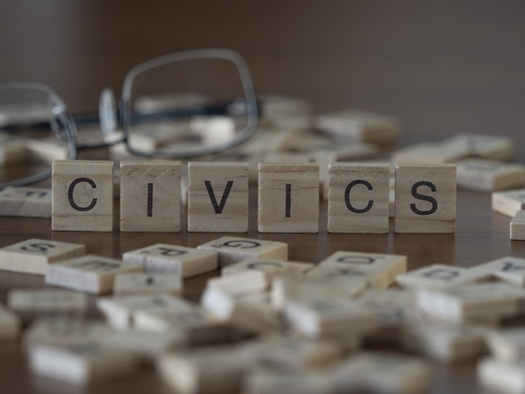 A recent report recommends New Hampshire strengthen standards for learning about federalism, elections, political parties, and comparative government in high school civics. (Shane/Adobe Stock)