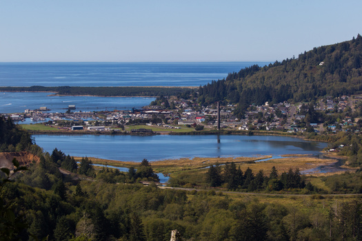 Tillamook County on Oregon's coast is one of two counties in the state hosting an American Connection Corps fellow. (xiao/Adobe Stock)