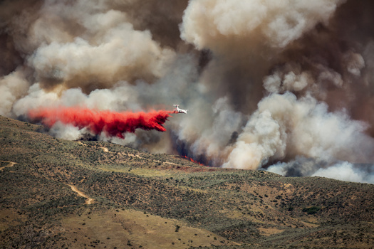 More than 8,700 acres have burned in Idaho so far this year as wildfire season ramps up. (Glen/Adobe Stock)