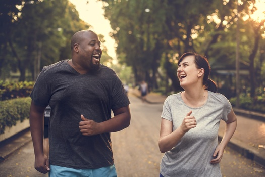 Experts say having an exercise partner can help most people better reach their fitness goals. <br />(Adobe Stock)