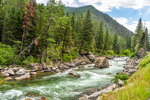 About 39 miles of the Gallatin River would be designated Wild and Scenic under legislation in Congress. (Matt/Adobe Stock)