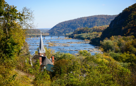 National historical parks, like Harpers Ferry in West Virginia, could soon reduce their backlog of deferred maintenance by using funds from the Great American Outdoors Act. (Adobe Stock)