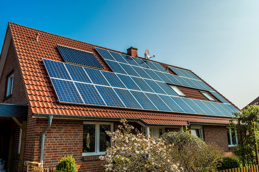 Supporters of the 30 Million Solar Homes Initiative say over the next five years, it would create $69 billion in electric-bill savings. (Adobe Stock)