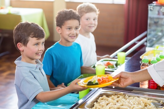 Maine is among the first states to pass a bill for free school meals for all students, regardless of household income. (WaveBreakMediaMicro/Adobe Stock)