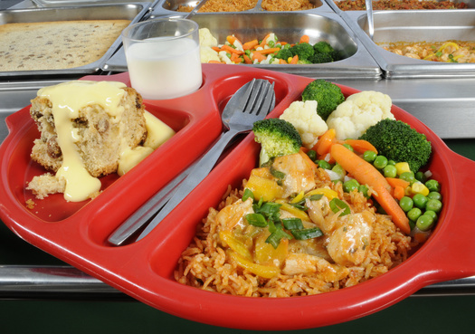 The National School Lunch Program is designed to meet nutrition standards and promote healthy eating. (Adobe Stock)