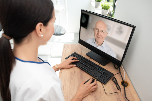 During the COVID-19 medical emergency, Medicaid and Medicare are reimbursing telehealth at the same rate as in-person care. Beyond the pandemic, federal reimbursement parity remains uncertain. (Adobe Stock)