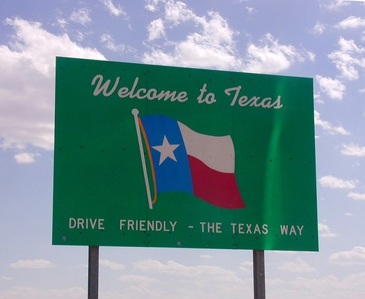 The U.S. Justice Department says Texas is attempting to unlawfully create its own