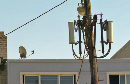 Safety standards for radiofrequency radiation from cell towers and wireless devices are based on studies done only on adults, not children. (Kevin Mottus/California Brain Tumor Association)