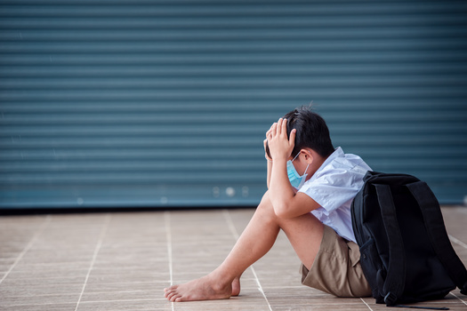 Recent Kaiser Family Foundation research shows more than 20% of parents with children ages 5 to 12 say their kids' emotional health has declined since March 2020. (Adobe Stock)
