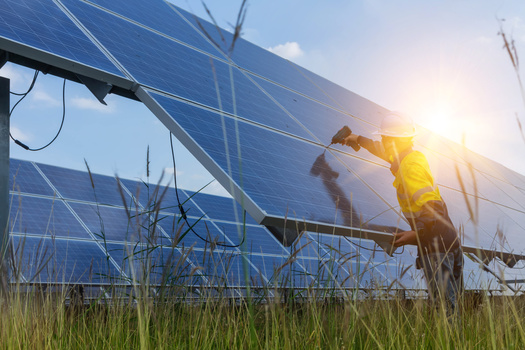 A new report says one in three clean-energy jobs in Minnesota is located outside the Twin Cities. (Adobe Stock)