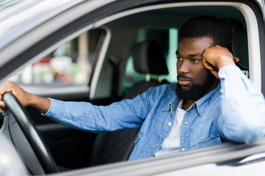 Analyzing body camera footage from more than 100 police officers and 250 audio clips, a new study finds officers spoke to Black men with less warmth, respect and ease compared to white men. (Adobe stock)<br />