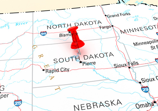 South Dakota's redistricting effort involves redrawing 35 legislative districts. Because it has only one seat in Congress, no federal maps are involved. (Adobe Stock)