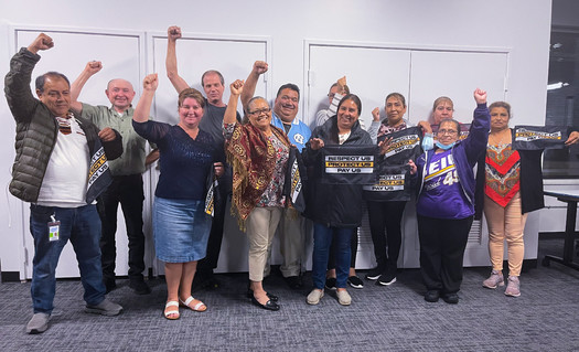Along with wage increases, Portland janitors are ensured more COVID-19 protections from their new contract. (SEIU Local 49)
