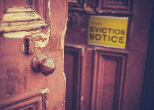 A new report that examines racial gaps between Black and white Virginians shows 60% of majority-Black neighborhoods in the state have eviction rates greater than 10%, quadruple the national average. (Adobe Stock)<br />