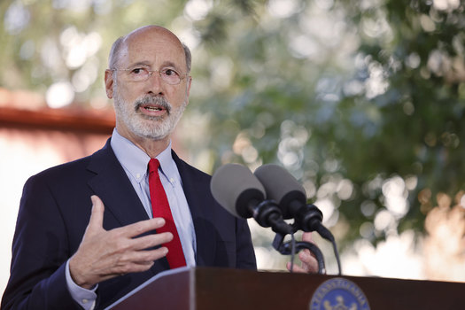 Since school started in Pennsylvania, the Department of Health says 5,000 students have tested positive for COVID-19. It's one reason for Gov. Tom Wolf's Sept. 7 mask mandate. (Gov. Tom Wolf/Flickr)
