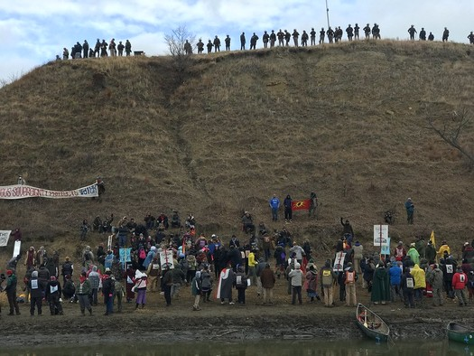 Since Native Americans protested the Dakota Access Pipeline in 2016, multiple states have passed laws restricting protests. (Hrag Vartanian/Adobe Stock)