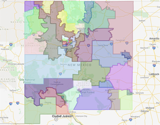 New Mexico is one of a dozen states giving residents access to the software and web tools needed to participate in 2021 redistricting. (New Mexico Legislature)