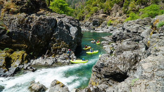 A report on ecologically important rivers in Oregon highlights the Chetco River in the southwestern part of the state. (Zachary Collier/Flickr)
