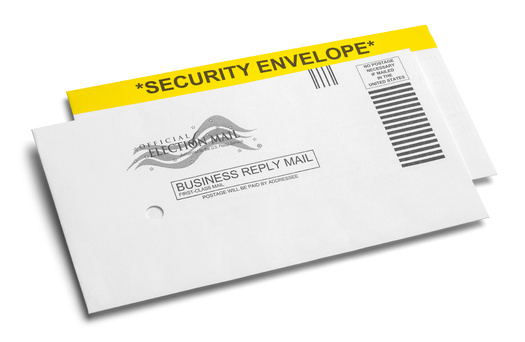 Election envelopes for ballots in California are not uniform; they vary from county to county.(Pixelbot/Adobe Stock)