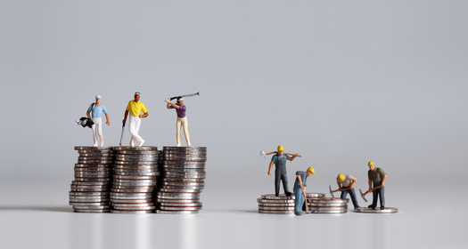 Working Americans pay a higher tax rate on their wages than people who are wealthy pay for passive income gained through investments in stocks and bonds. (Adobe Stock)