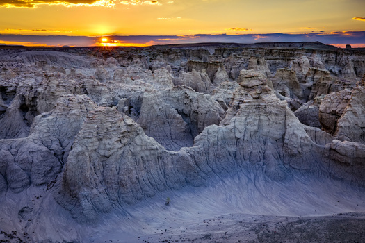 Run the Red begins in the former gold mining community of South Pass City and takes runners through the northern Red Desert - a maze of buttes, canyons, badlands, wilderness study areas and miles of open country. (Adobe Stock)