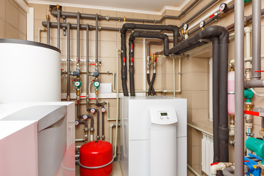 Advocates in Washington state are pushing to replace heat pumps and other appliances that run on fossil fuels. (Aleksey Sergeychik/Adobe Stock)