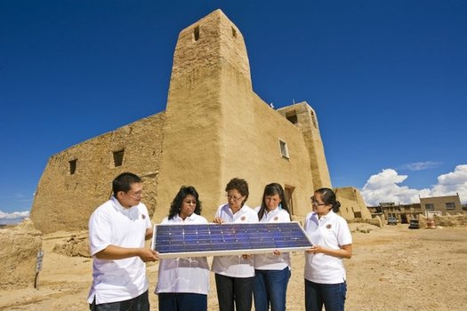 New Mexico's Community Solar Act was signed into law earlier this year, after failing during previous legislative sessions. (energy.gov)