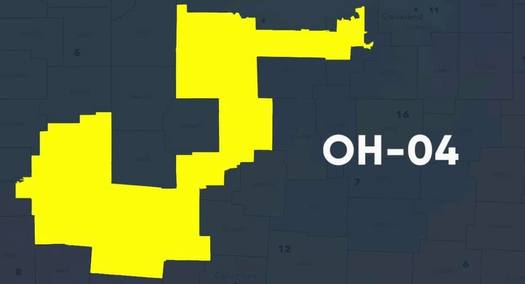 Co-Chair of the Ohio Redistricting Commission, Ohio House Speaker Bob Cupp, R-Lima, represents the gerrymandered
