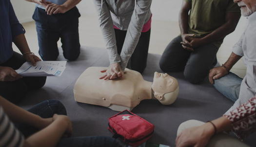World Restart a Heart Day for 2021 highlights the importance of learning CPR, since survival for out-of-hospital cardiac arrests dropped by 14% during the pandemic. (Adobe stock)<br />