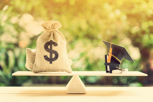 Half of the college graduating class of 2019 in Washington state had student debt. (William W. Potter/Adobe Stock)