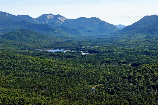 Boreas Ponds, in the town of North Hudson, which will provide recreational opportunities to the public after it transfers to state ownership. © Carl Heilman II