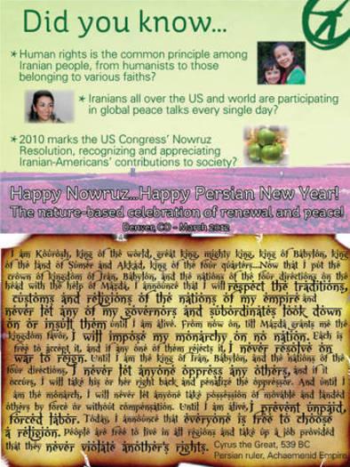 Noruz Fact Sheet
