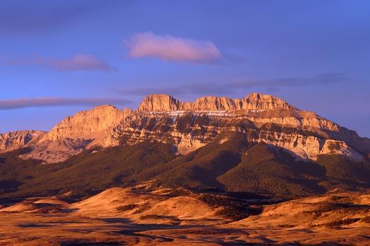 PHOTO: Rocky Mountain Front Sawtooth Ridge