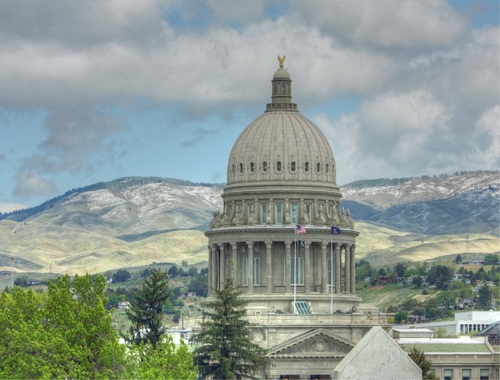 PHOTO: Idaho State Capitol Photo credit: Deborah Smith