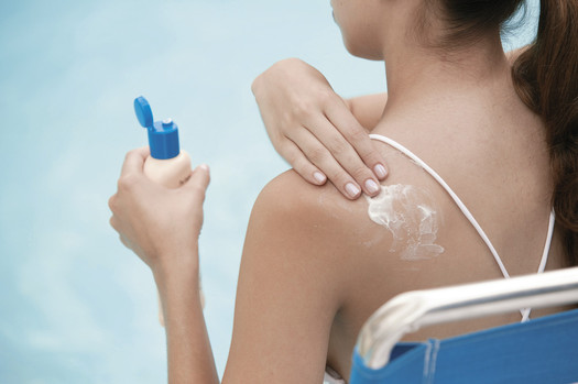 PHOTO: Sunscreen should be applied every two hours when outside, or more frequently if swimming or sweating.