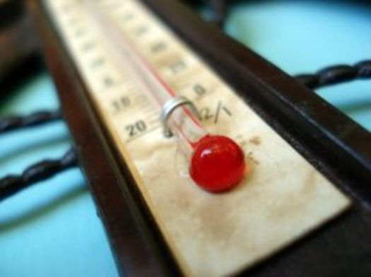 PHOTO: Thermometer