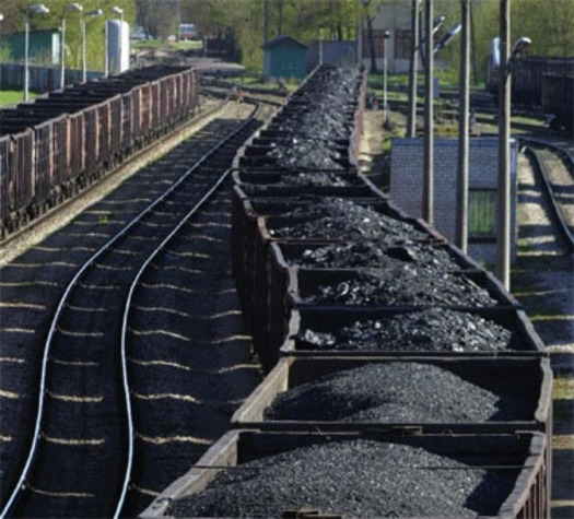 PHOTO: Loaded coal train.