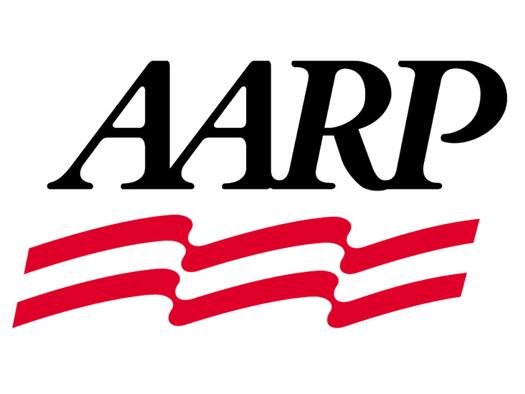 Pat Gross at AARP meeting in Yankton.