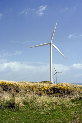 PHOTO: With congress dragging it's feet on renewing the Production Tax Credit (PTC) for alternative energy, the uncertainty has prompted wind-related businesses to slow their pace and/or look at other countries for opportunities to grow. (Image is public domain)