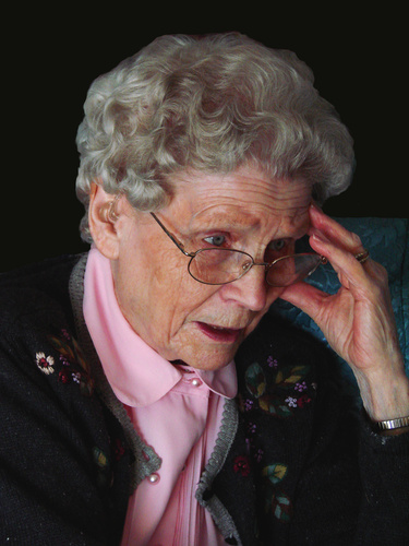 """PHOTO:  It's sometimes called """"invisible abuse"""" of older people – from securities fraud to diverting Social Security checks, to flat-out rip-offs by scam artists, many elderly are losing their money. Image by Marti © 2010 Microsoft Corporation"""