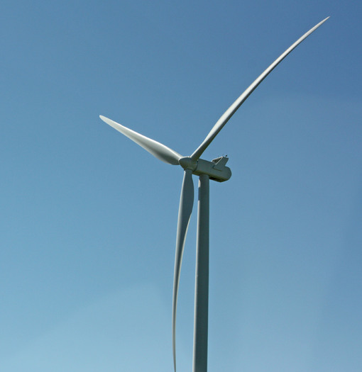 PHOTO: Wind turbine. Photo credit: Deborah Smith