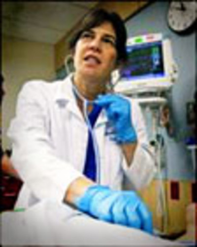 PHOTO: Dr. Sharon Meieran. Courtesy of Oregon Chapter, American College of Emergency Physicians.