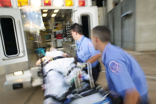 PHOTO: Ambulance crew. CREDIT: American Heart Association